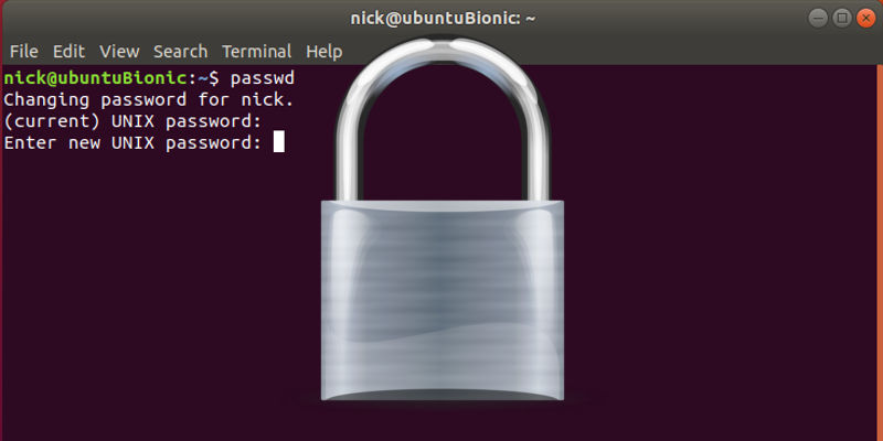Manage Passwords Linux Command Line