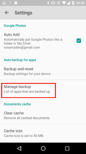 How to Recover Your Android Settings With Google Backup and