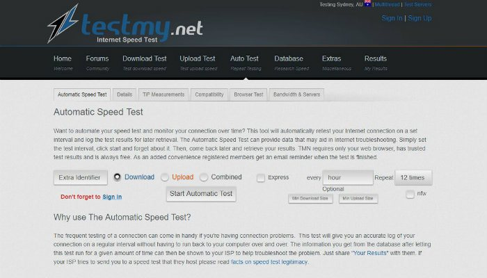 test-speed-testmy