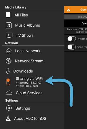 vlc-stream-video-to-ios-vlc-ios-app-sharing-via-Wi-Fi-button