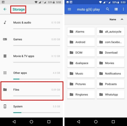 How to Access Hidden File Manager in Android Oreo - Make