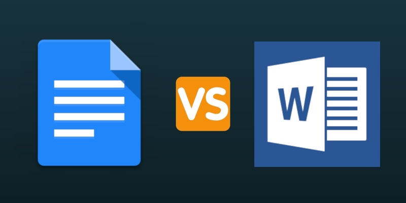 Microsoft Word Vs Google Docs Do You Really Need MS Office Anymore - Google docs word processor