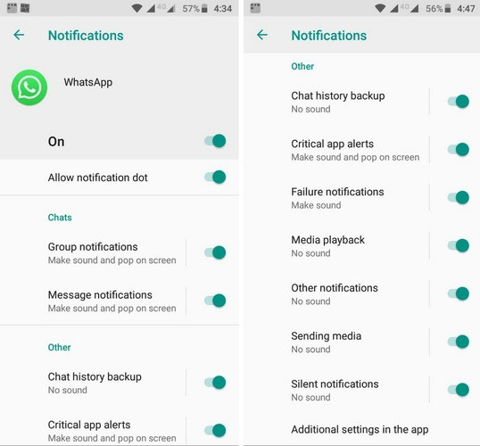 How to Disable and Customize Notifications in Android Oreo