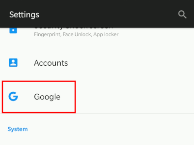 android-settings-google