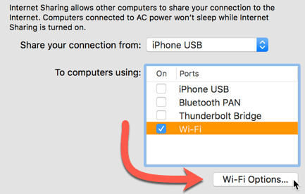 How to Create a Wi-Fi Hotspot in macOS - Make Tech Easier