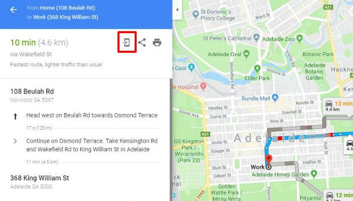 How to Add Multiple Stops in Google Maps - Make Tech Easier Send Google Map Route To Phone on google maps overview, google maps menu, google maps green pin, google maps zoom in, google maps map, google maps thumbnail,
