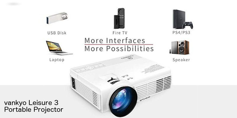 Vankyo Leisure 3 Portable Projector - Review and Giveaway - Make