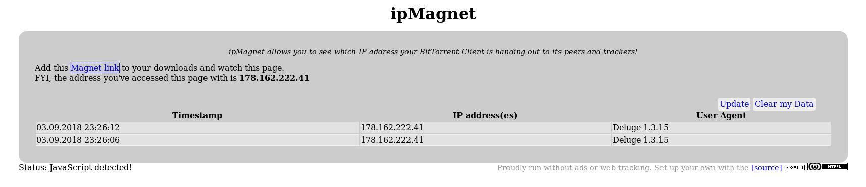 ipMagnet Results