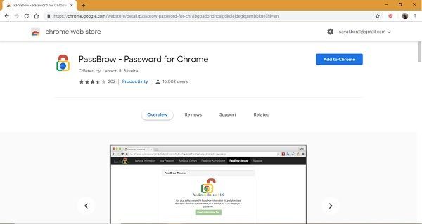 how to change your chrome password