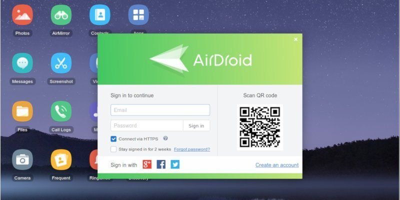 Airdroid: Connect Your Android Phone to A Linux Computer