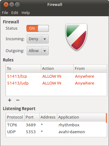 best-antivirus-software-ubuntu-gufw