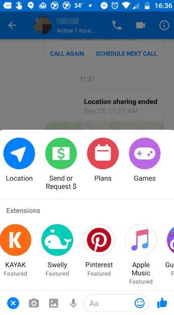 fb-messenger-extensions