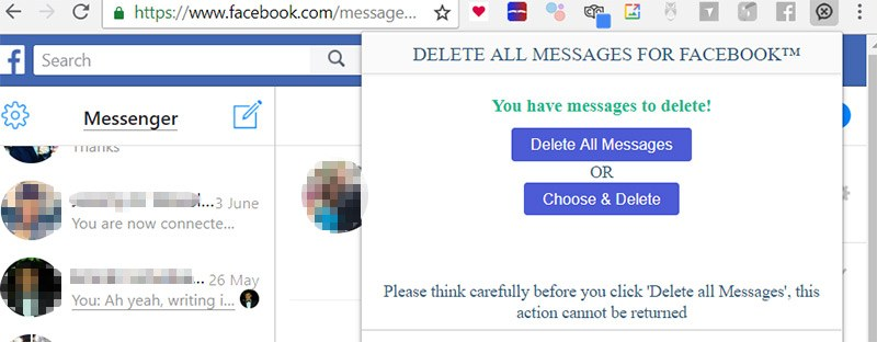 How to Bulk-Delete Messages from Facebook Messenger - Make Tech Easier