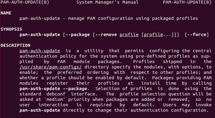 linux-pam-auth-man