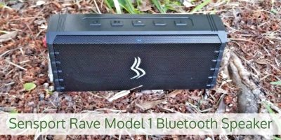 Hit the Outdoors with the Rave Model 1 Bluetooth Speaker by Sensport