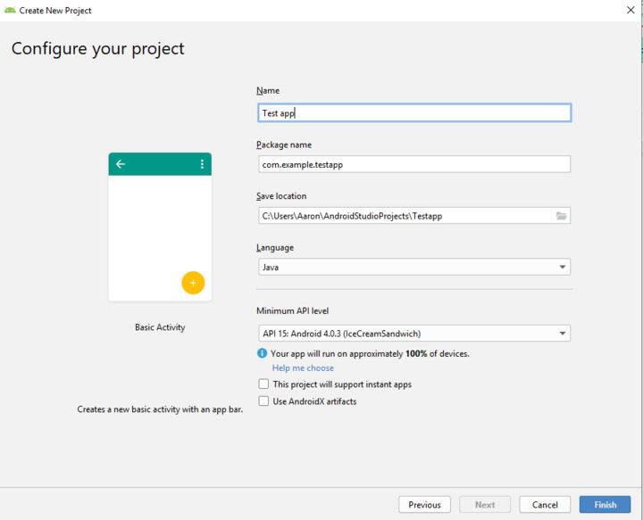 android-studio-configure-your-project