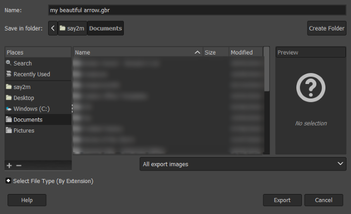 How to Draw Arrows in GIMP - Make Tech Easier