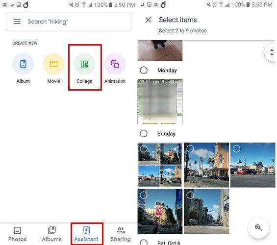 google-collage