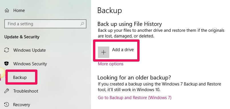 How to Back Up Your Data Using Windows File History - Make