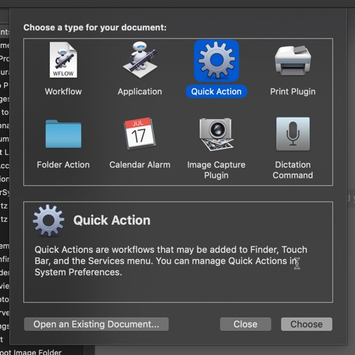 Creating and Using Quick Actions in macOS Mojave - Make Tech