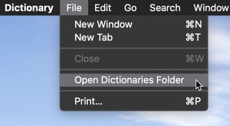 Customizing the Dictionary App on macOS - Make Tech Easier