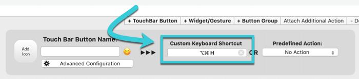 customize-touch-bar-bettertouchtool-keyboard-shortcut