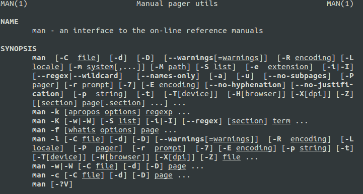 linux-commands-man-man