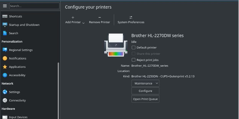 How to Set Up a Printer in Linux