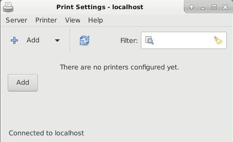 how to add printer in linux