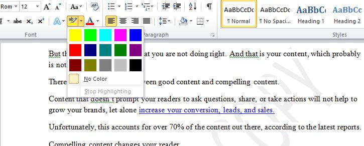 microsoft-word-highlighter-pen