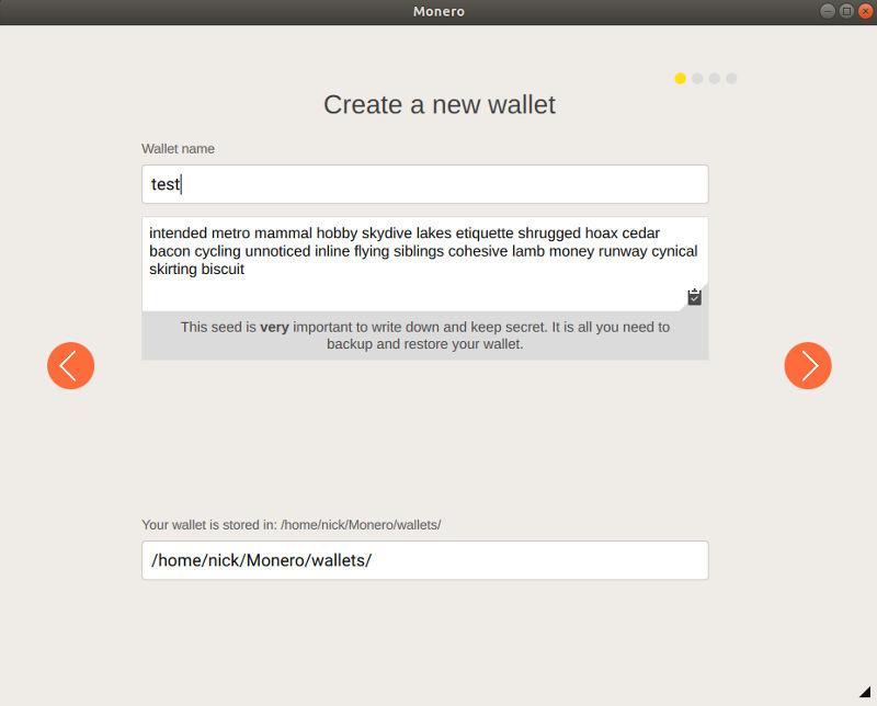Name Your Monero Wallet