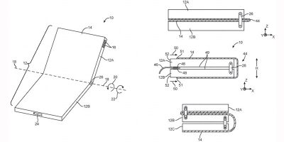 Apple Files for 2nd Foldable Phone Patent