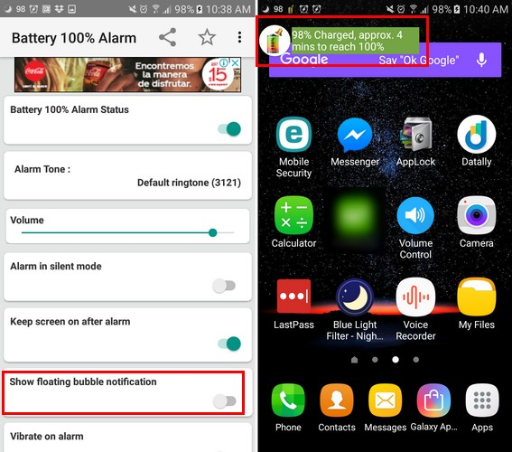 5 Apps that Notify You When Your Android Battery Is Full