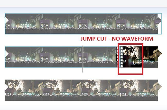 Windows Movie Maker-Remove Jump Cuts