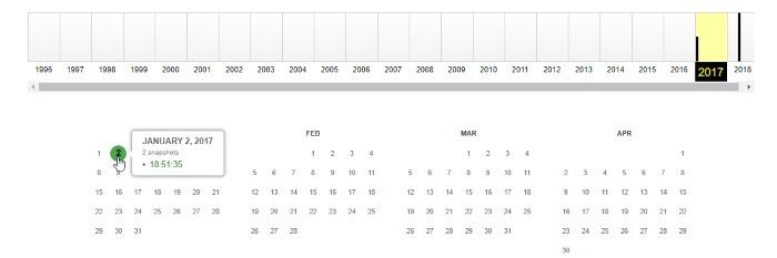 website-date-calendar
