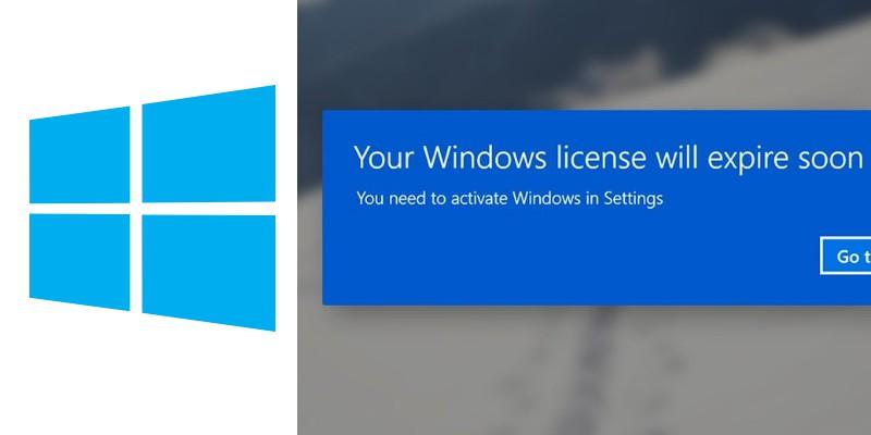 genuine windows pop up