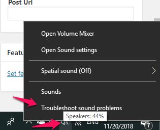 windows10-माइक्रोफोन-समस्या निवारण