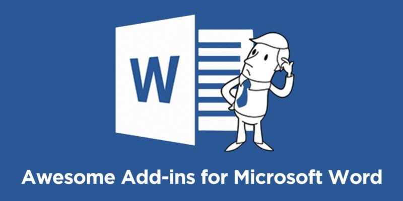 Add-ins for Microsoft Word