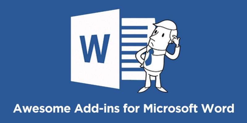 Add-ins for Microsoft Word
