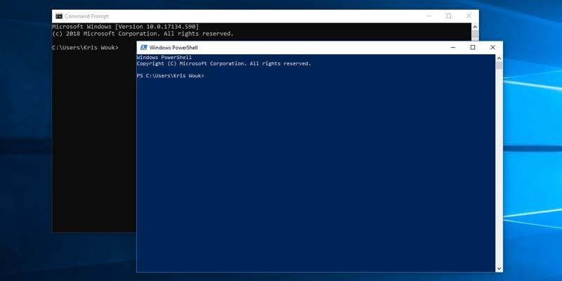How to Run Automatic Commands at Command Prompt/Powershell