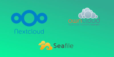 OwnCloud vs Nextcloud vs Seafile