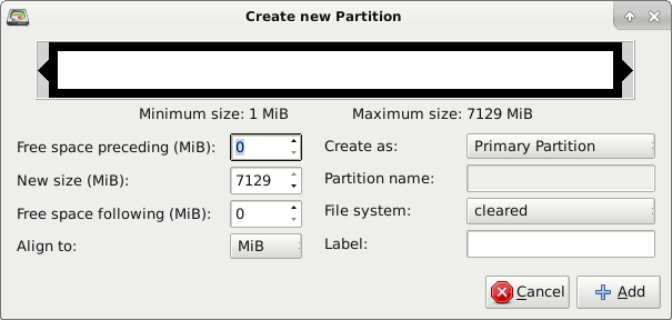 cryptsetup-gparted-new-partition-cleared