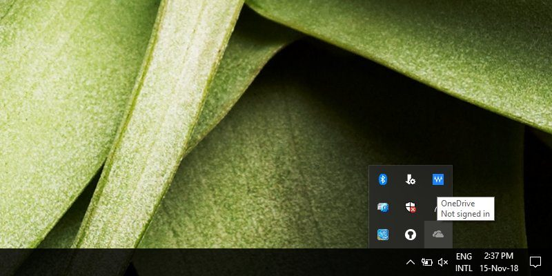 How to Restore Missing OneDrive Icon on Taskbar in Windows