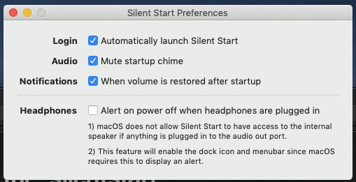 silent-start-preferences