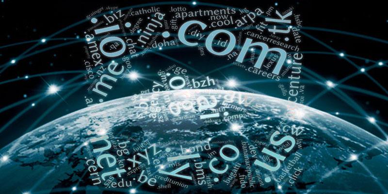 Какие доменные имена верхнего уровня наиболее популярны?