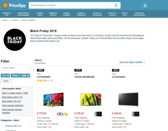 Black Friday 2019: Best Price Trackers and Deals Sites - Make Tech