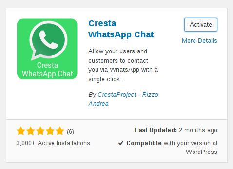 wordpress-whatsapp-activate-plugin