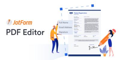 JotForm PDF Editor