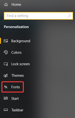 How to Download Fonts from the Microsoft Store in Windows 10