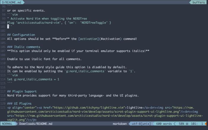 best-markdown-editors-linux-vim
